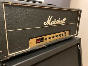 Marshall JMP 2203 100w Head with Cover 1977