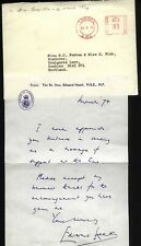 More details for 1974 edward heath prime minister, resignation, handwritten reply + copy letter