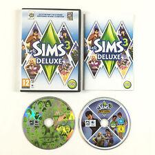 Les Sims 3 Le Jeu De Base + Ambitions Disque Additionnel Sur PC Deluxe