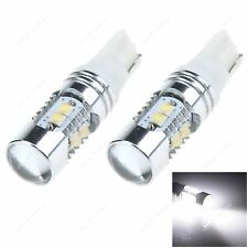 2pcs White T10 W5W 10SMD Cree LED 7W Car Clearance Lamp Roof Light Reading Bulb