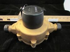 "Elster Amco  C700 1"" Direct read Bronze Water Meter BRAND NEW"