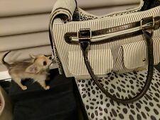 Pet Carrier Purse Cat/Dog Comfort Travel Bag Tote Handbag