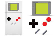 Dry Erase Refrigerator Vinyl Gamer Decal Funny Fridge Vintage Stickers GAME BOY