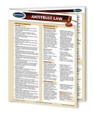 Antitrust Law Quick Reference Guide 4-page laminated legal chart