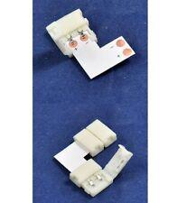 5PCS 2Pin Angle Corner Connector L-Shape for 5050 single color led strip Light