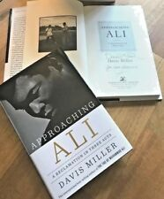 APPROACHING ALI, Davis Miller; AUTOGRAPHED ALL-TIME BEST MUHAMMAD ALI BOOK