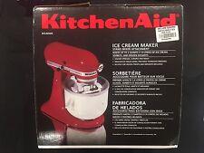 KitchenAid 2 Quart Ice Cream Maker Mixer Attachment Accessory - New in Open Box!