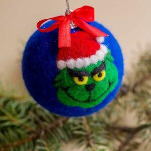 Christmas Grinch Ball, New Year Tree Ball ,Christmas tree ornament