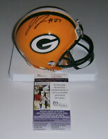 PACKERS Josh Jones signed mini helmet w/ #27 JSA COA ROOKIE DB AUTO Autographed