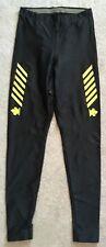 Descente Black Stretch Ski Legging Pant W24-28+ L28 Long John Underwear Fitted