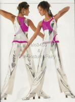 INNOVATION Dance Costume Futuristic Space Jumpsuit Unitard Adult Medium New