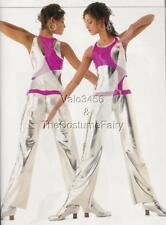 Innovation Dance Costume Futuristic Space Jumpsuit Unitard Adult Large