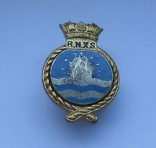 Royal Navy auxiliary service  - RNXS  mine spotters  lapel  badge by Gaunt