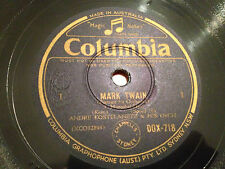 "ANDRE KOSTELANETZ & His Orchestra ""MARK TWAIN"" (Kern) 78rpm 12"" 1943 DOX718  NM+"