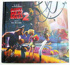 The Art of Cloudy With A Chance of Meatballs 2  Book SIGNED x13 + DOODLES