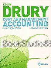 NEW Cost and Management Accounting An Introduction 7E Colin Drury 7th Edition