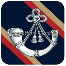 OXFORDSHIRE & BUCKINGHAMSHIRE LIGHT INFANTRY COASTER