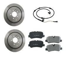 Land Rover LR3 4.4 05-08 Rear Brake Kit w/ Rotors Semi Metallic Pads Sensor