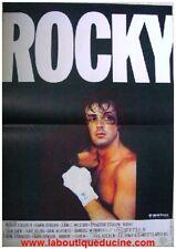 ROCKY Affiche Cinéma Originale pliée 53x40 Movie Poster SYLVESTER STALLONE
