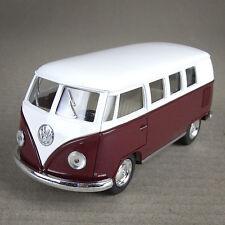 1962 Volkswagen VW Kombi Combi Van Hippy Bus Camper Die-Cast 1:32 Scale Maroon