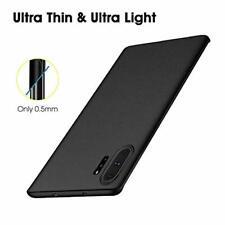 Samsung Galaxy Note 10 Plus Case Hard PC Ultra Slim Thin Anti Slip Cover Black