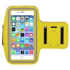 "IPhone 6 Plus 5.5 ""Giallo Premium Running, Jogging, BICICLETTA FASCIA DA BRACCIO PHONE STRAP"