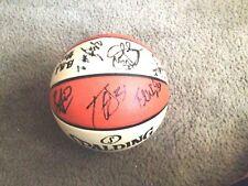 New York Liberty 2016 Team Autographed WNBA Ball  COA/Proof*