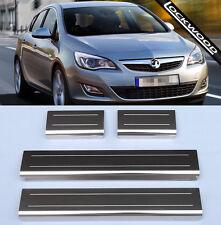 Vauxhall Astra Mk6 'I/J' 4 Door Stainless Steel Sill Protectors / Kick plates