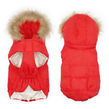 Small Dog Coats for Winter Pet Clothes Waterproof Jackets Hoodie French Bulldog