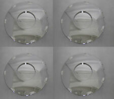 4 CAP DEAL CADILLAC 2008 2009 CTS STS WHEEL RIM PLAIN CHROME CENTER CAP 99-0732