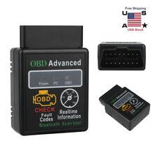 OBD2 Car Bluetooth Code Scanner Reader ELM327 Automotive Diagnostic Tools OBDII