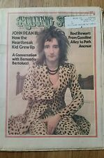 RARE Rolling Stone No. 137, June 21, 1973 Rod Stewart John Dean color cover