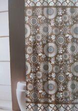 "Traditions by Waverly Gemma Fabric Shower Curtain 70"" x 72"" NIP"