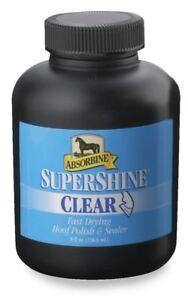 ABSORBINE SUPERSHINE CLEAR HOOF POLISH 237ML HORSE & PONY