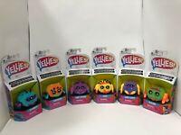 Yellies Series1 Complete Set, Peeks Bo Dangles Flufferpuff Klutzers Toofy Harry