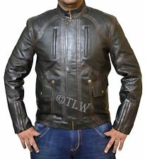 STOCK CLEARANCE 70%, Bucky Barnes Leather Jacket Captain America Winter - M