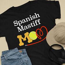 Spanish Mastiff Dog Mom and Dad Comfy Cute Dog Lover T-Shirt
