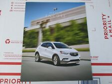 NEW 2018 18 BUICK ENCORE SALES SHOW ROOM BROCHURE