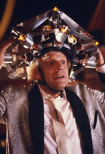 Back to the Future 35mm slide & 8x10 photo Christopher Lloyd as Doc time machine