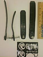 Flow Snowboard Bindings - Toothed Toe Ladder Straps Replacement Parts for 2 Toes