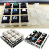 Mechanical Keyboard Clear Keycaps 9 x Switches Sampler Tester Kit for Cherry