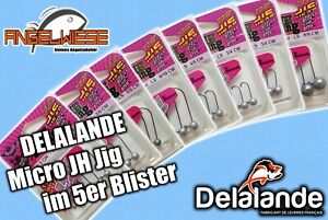DelalanDe Micro JH Jigs Rundkopfjig Minijig Gummifisch Kunstköder Softbait