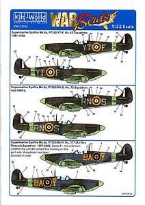 Kits World Decals 1/32 SUPERMARINE SPITFIRE Mk.II Battle of Britain Memorial #2