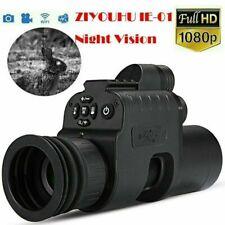 Nachtsichtgeräte Add On 1080P HD-Aufnahme 850nm-IR-Taschenlampe ZIYOUHU IE-01