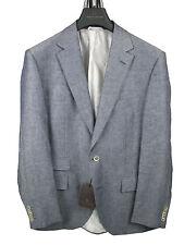 Boss Selection Sakko Sivert In 50 blau 60 leinen