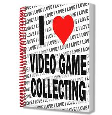 I Love Video Game Collecting - A5 Notebook Pad Drawings Birthday Christmas Gift