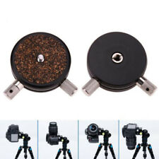 QR Disc 360 Degree Panoramic 1/4'' Camera Ball Head Quick Release Plate DSLR