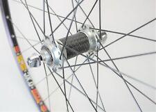 """CARBON FIBER ALLOY 26"""" SUN RIMS XC BICYCLE 32 SP0KE FRONT CLINCHER WHEEL"""
