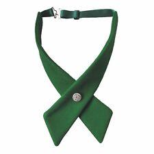 Crossover Pajarita Verde Celta St Patricks Día Irlandés Irlanda 100% puro Fieltro de Lana