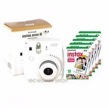 Fuji instax mini 8 white Fujifilm instant camera + 50 film